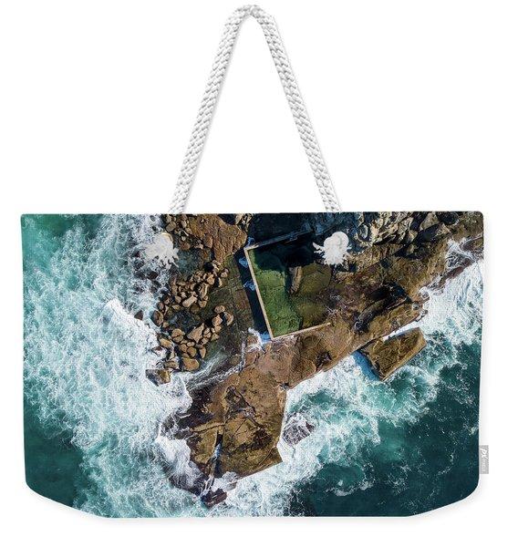 North Curl Curl Pool Weekender Tote Bag