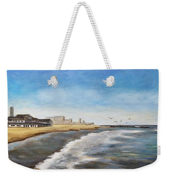 North End Beach Weekender Tote Bag