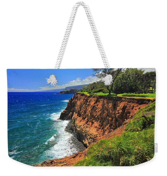 North Hawaii View Weekender Tote Bag
