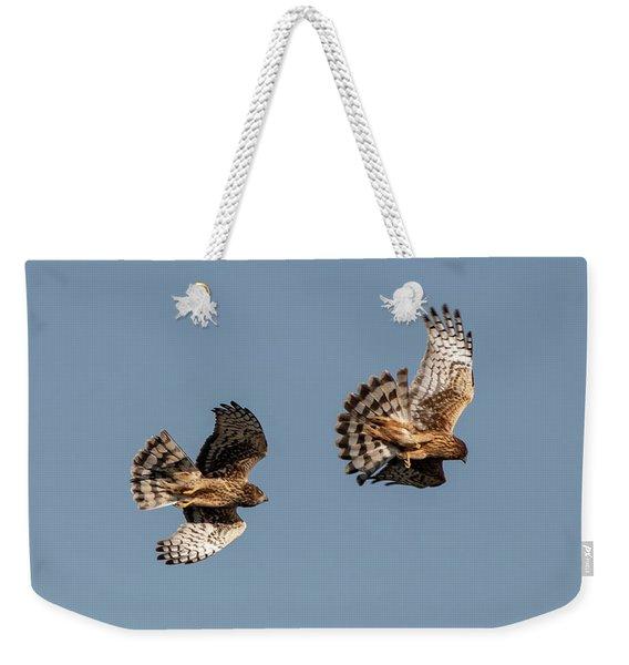 Northern Harriers 7 Weekender Tote Bag