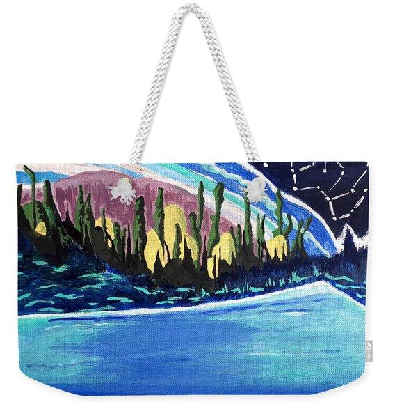 Northern Magic Weekender Tote Bag