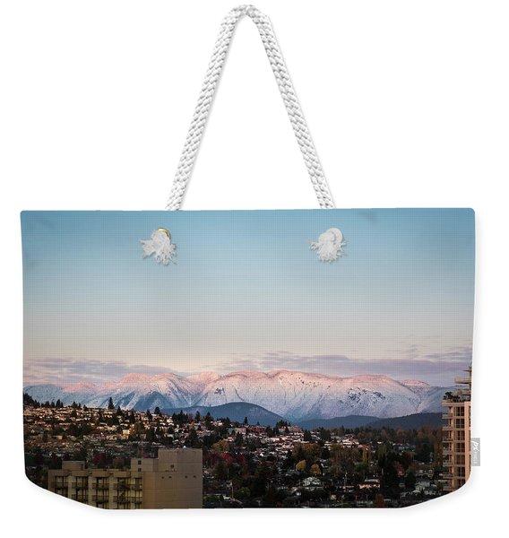 Northshore Winterscape Weekender Tote Bag