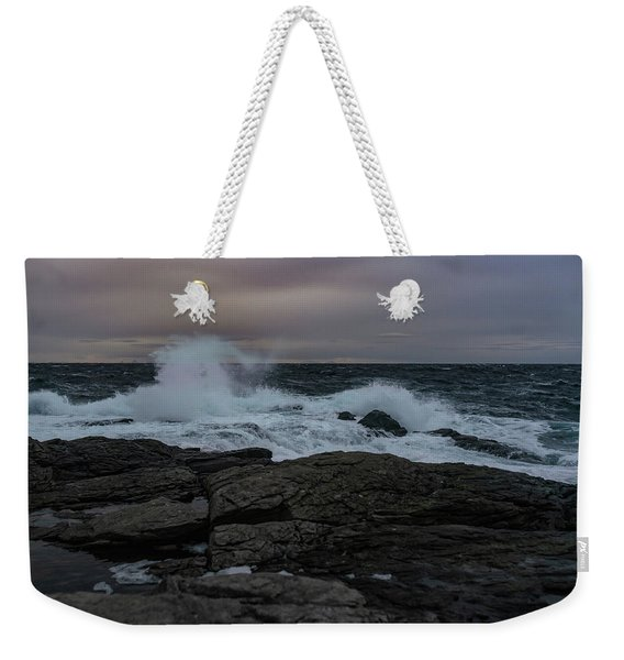 Norwegian Wild Waters Weekender Tote Bag