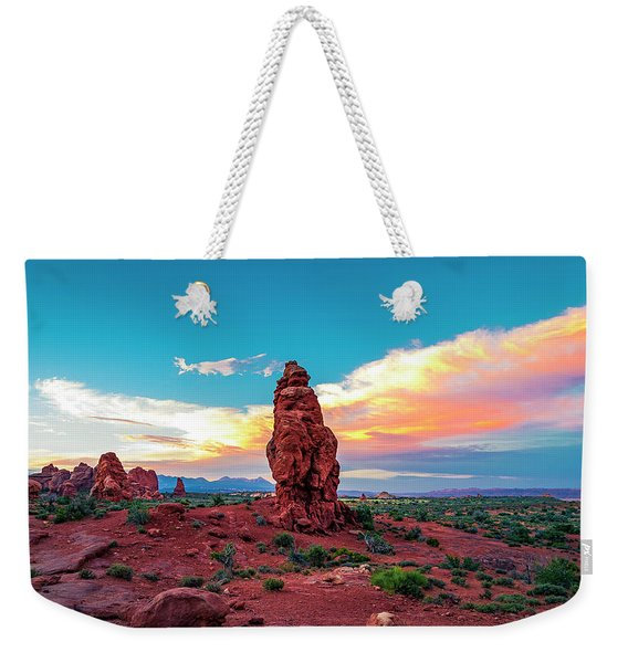 Not Just About Arches... Weekender Tote Bag