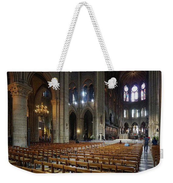 Notre-dame Weekender Tote Bag