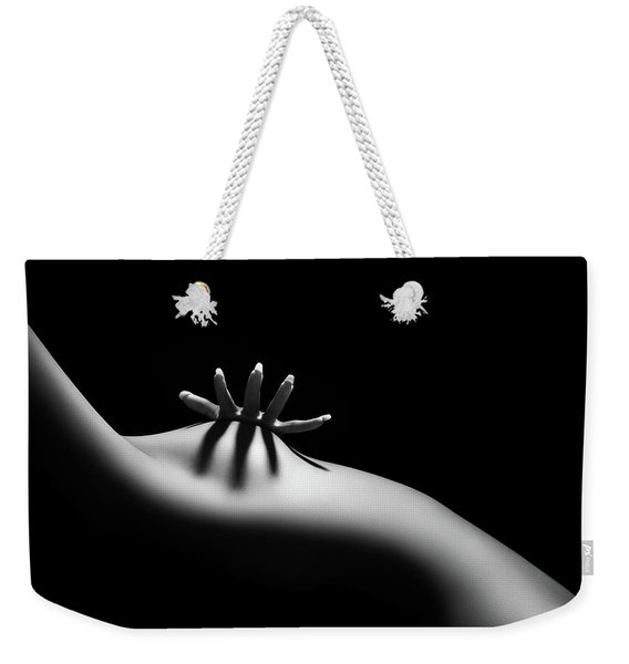 Nude Woman Bodyscape 11 Weekender Tote Bag