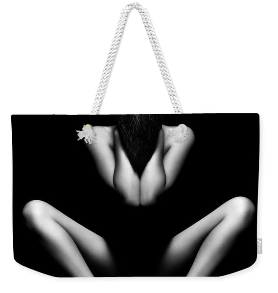 Nude Woman Bodyscape 12 Weekender Tote Bag