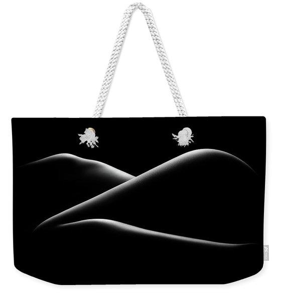 Nude Woman Bodyscape 17 Weekender Tote Bag