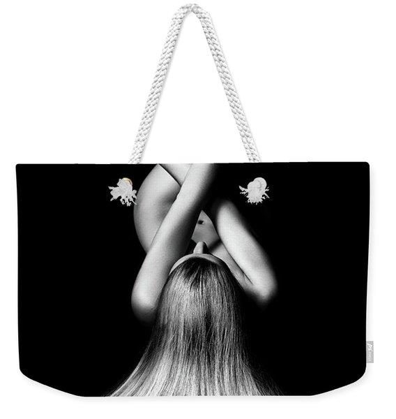 Nude Woman Bodyscape 2 Weekender Tote Bag