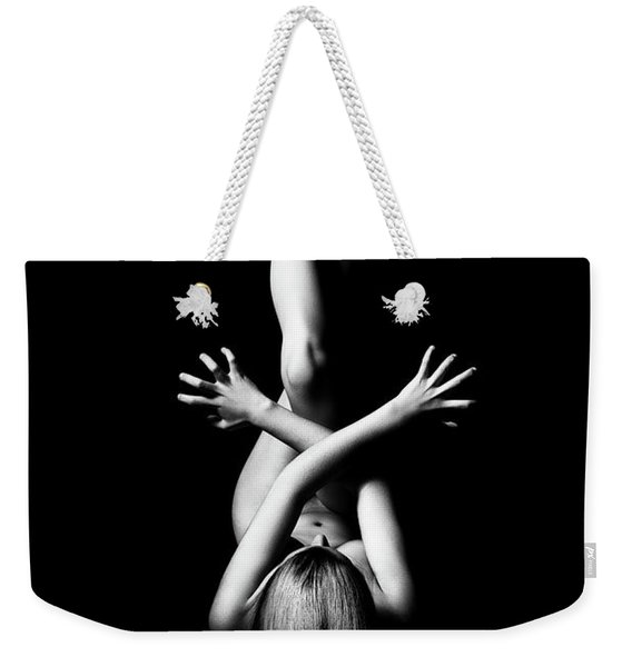 Nude Woman Bodyscape 3 Weekender Tote Bag