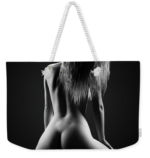 Nude Woman Bodyscape 32 Weekender Tote Bag
