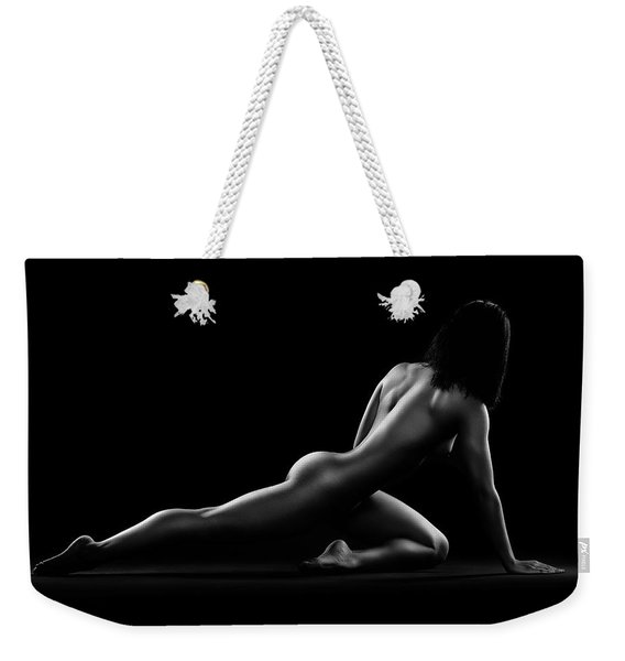 Nude Woman Bodyscape 5 Weekender Tote Bag