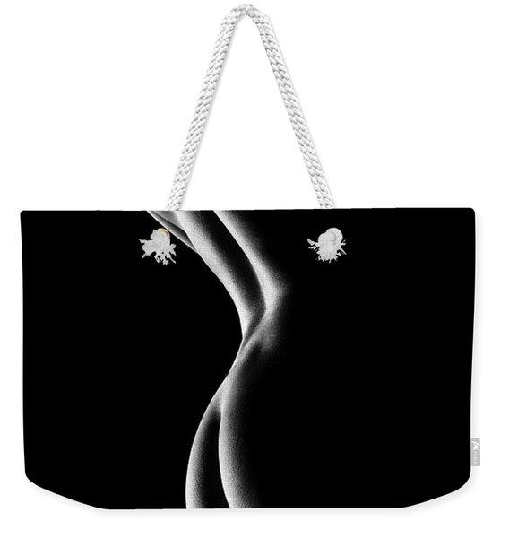 Nude Woman Bodyscape 6 Weekender Tote Bag