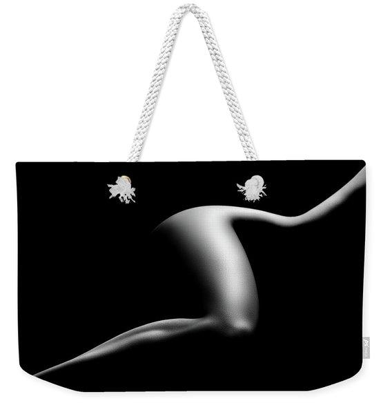 Nude Woman Bodyscape 9 Weekender Tote Bag
