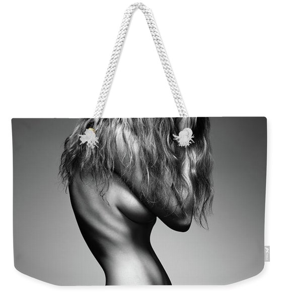 Nude Woman Sensual Body Weekender Tote Bag