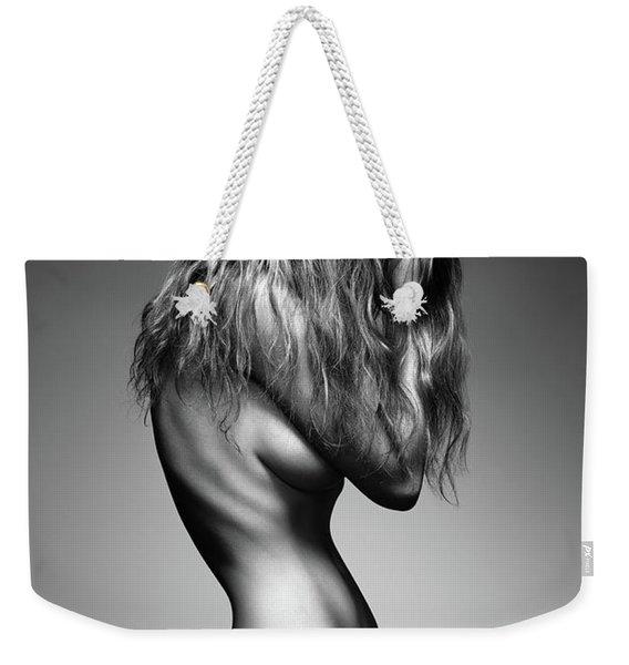 Nude Woman Sensual Body Weekender Tote Bag