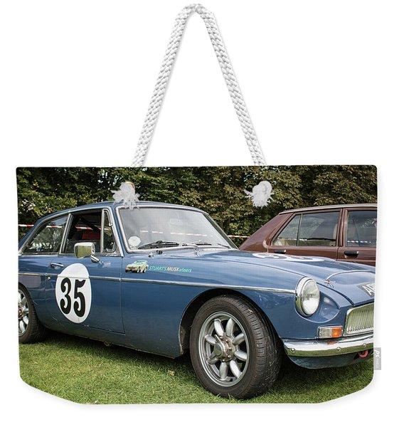Number 35 Weekender Tote Bag