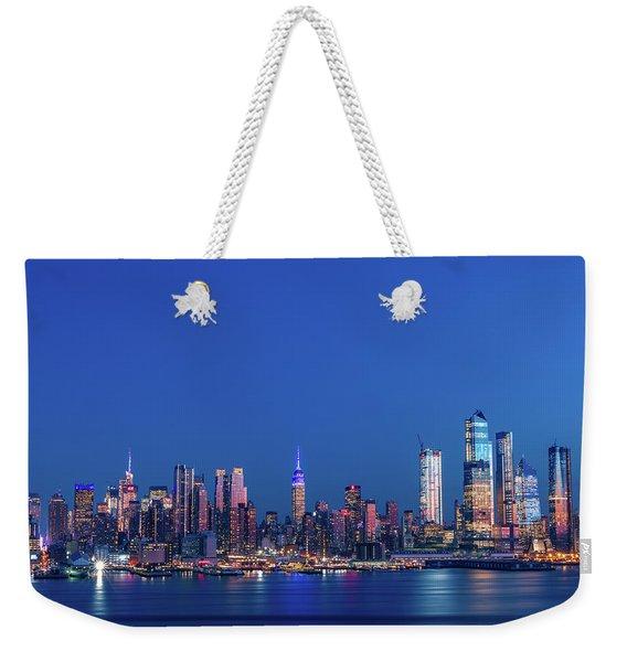 Nyc The Blue Hour Weekender Tote Bag