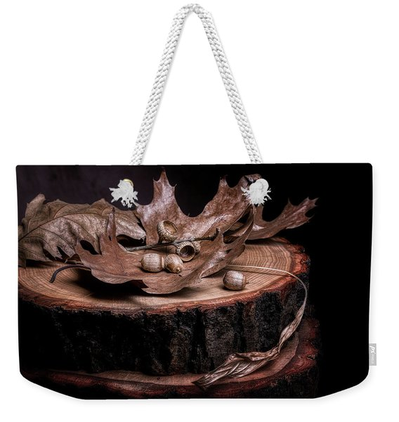 Oak Tree Still Life Weekender Tote Bag