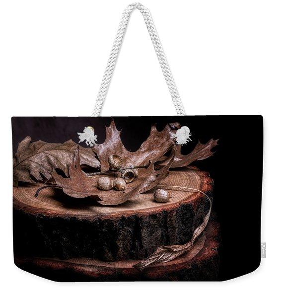 Oak Tree Still Life Weekender Tote Bag