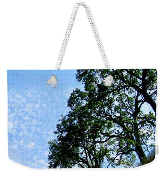 Oaks And Sky Weekender Tote Bag