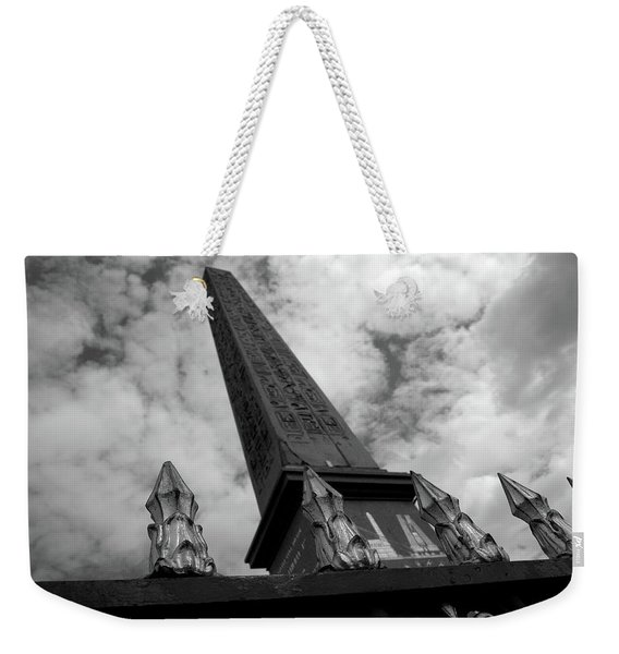 Obelisk Weekender Tote Bag