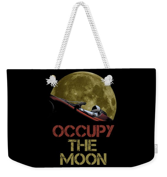 Occupy The Moon Weekender Tote Bag