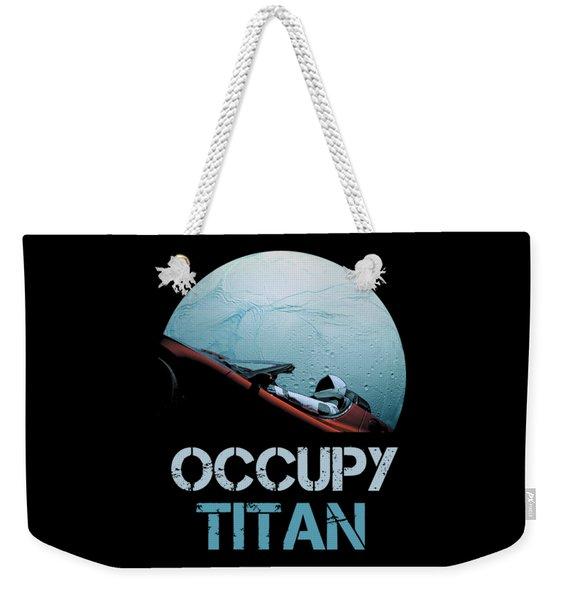 Occupy Titan Weekender Tote Bag