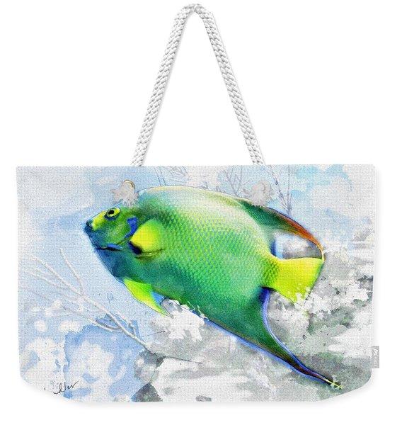 Ocean Colors Weekender Tote Bag