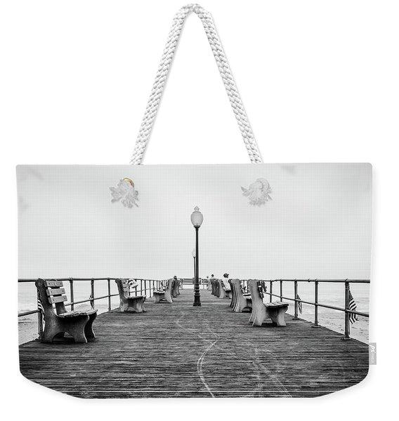 Ocean Grove Pier 1 Weekender Tote Bag