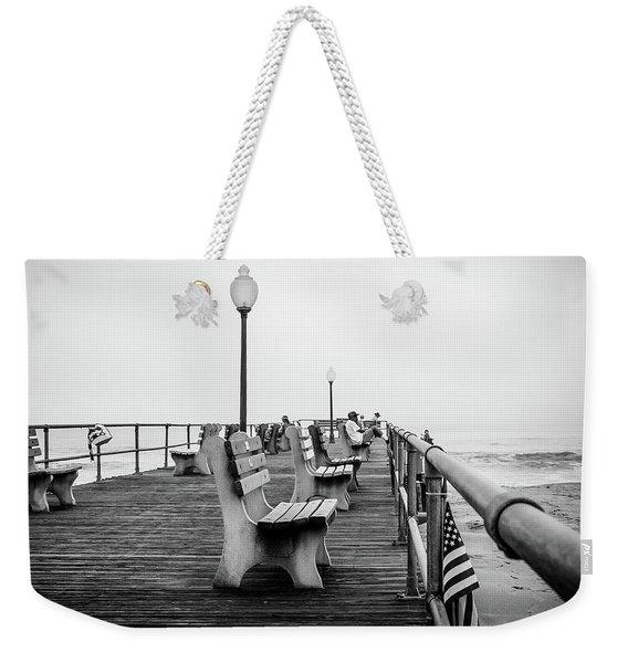 Ocean Grove Pier 2 Weekender Tote Bag