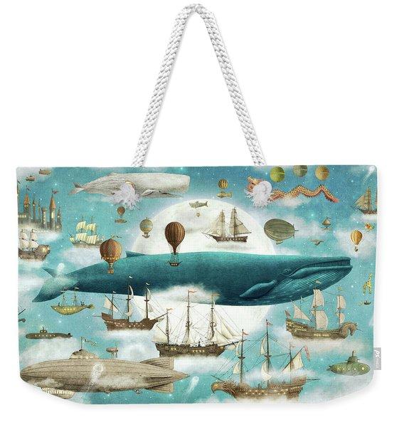 Ocean Meets Sky Weekender Tote Bag