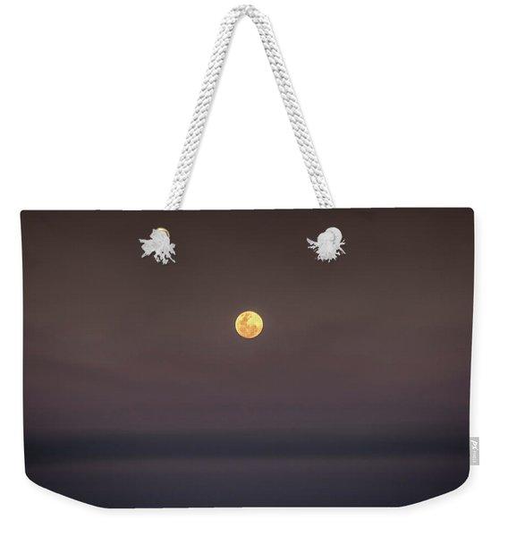 Ocean Moon Weekender Tote Bag