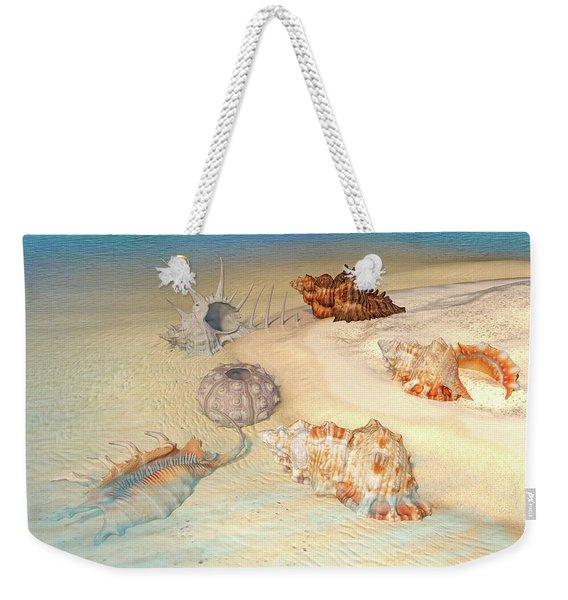Ocean Shells Weekender Tote Bag