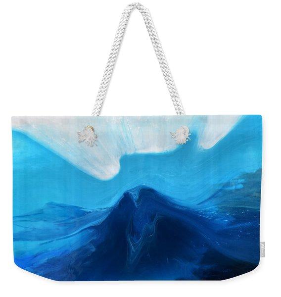 Ocean Wave Weekender Tote Bag