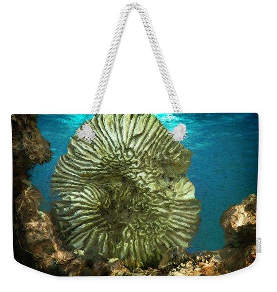 Ocean With Its Life Underground Weekender Tote Bag