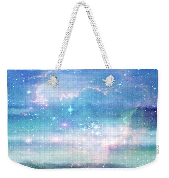 Oceans In The Heavens Weekender Tote Bag