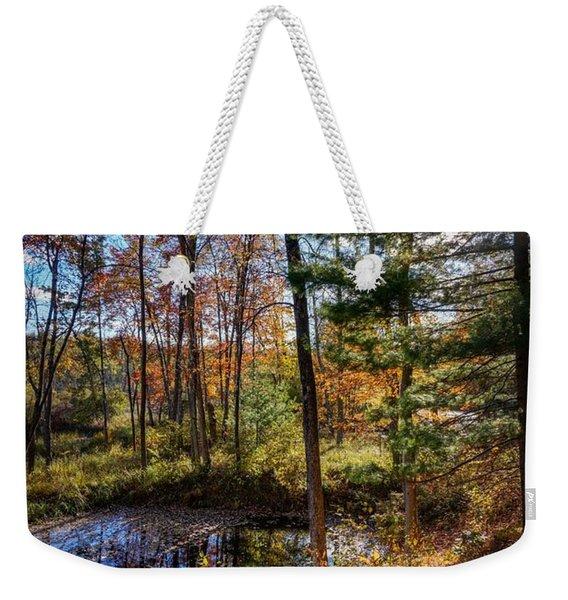 October Late Afternoon Weekender Tote Bag