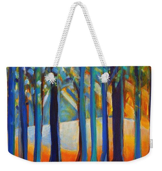 October Sunshine Weekender Tote Bag