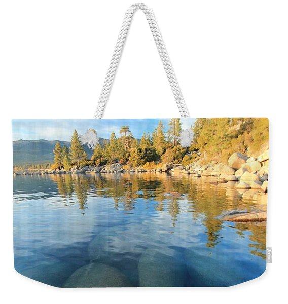 October Twilight  Weekender Tote Bag