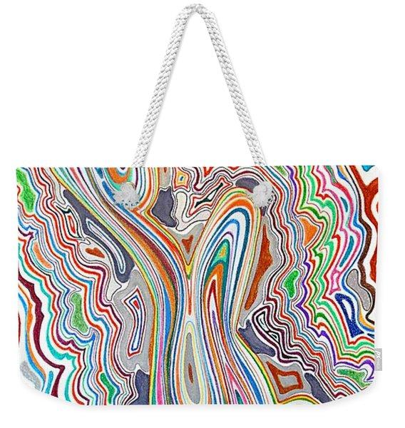Ode To The Seventies Weekender Tote Bag
