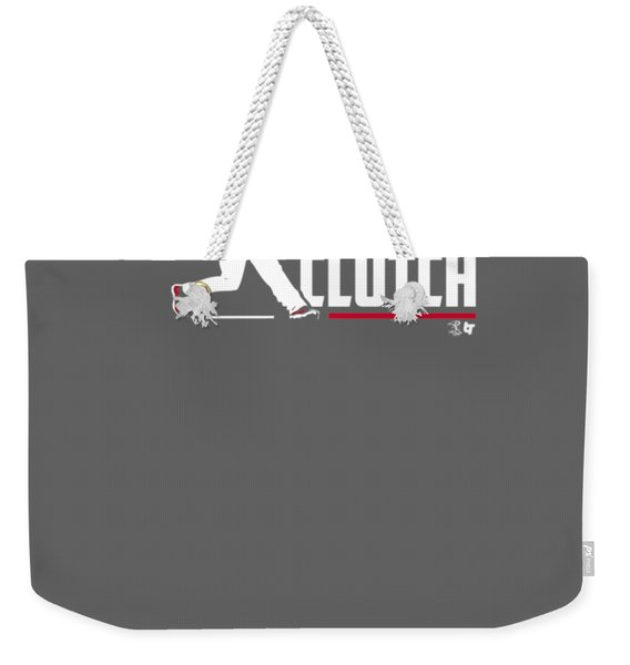 Officially Licensed Charlie Culberson Shirt - Charlie Clutch Weekender Tote Bag