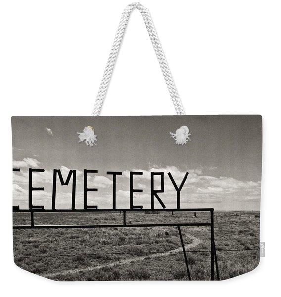 Oh, Bury Me Not Weekender Tote Bag