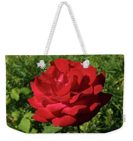 Oh The Blood Red Rose Weekender Tote Bag