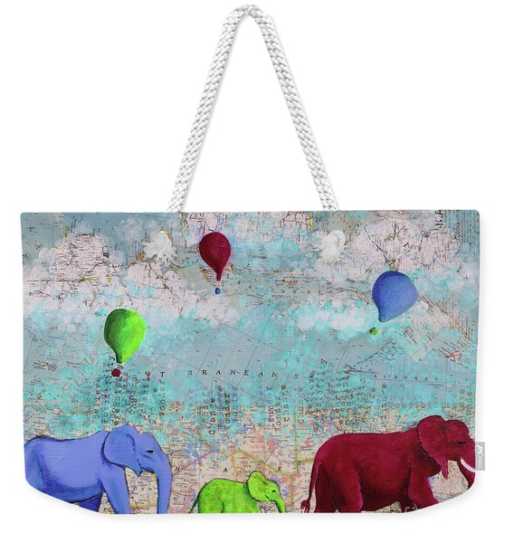 Oh The Places You'll Go Weekender Tote Bag
