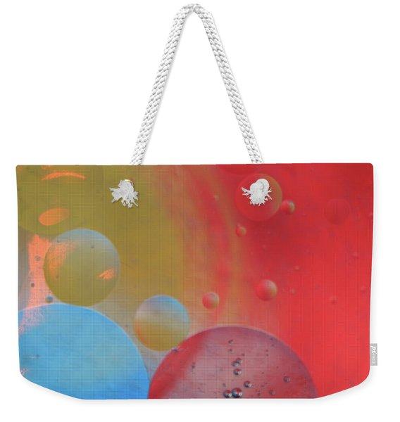 Oil And Color Weekender Tote Bag