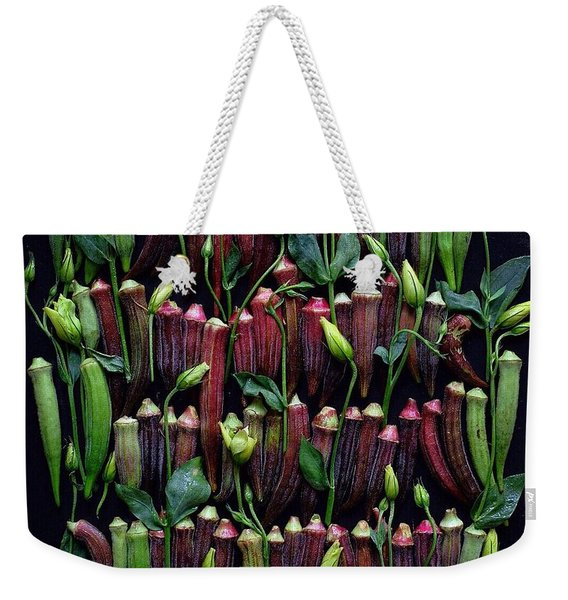 Okra Colors Weekender Tote Bag