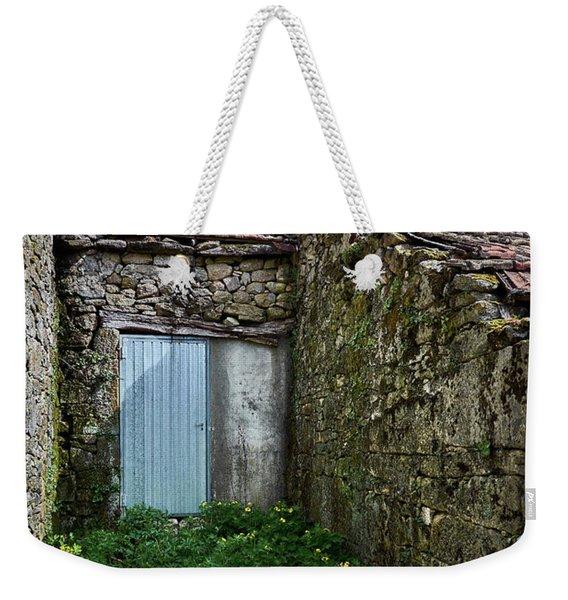 Old Abandoned House In Bainte Weekender Tote Bag