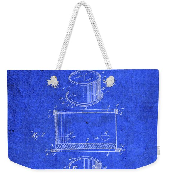 Old Ant Trap Vintage Patent Blueprint Weekender Tote Bag