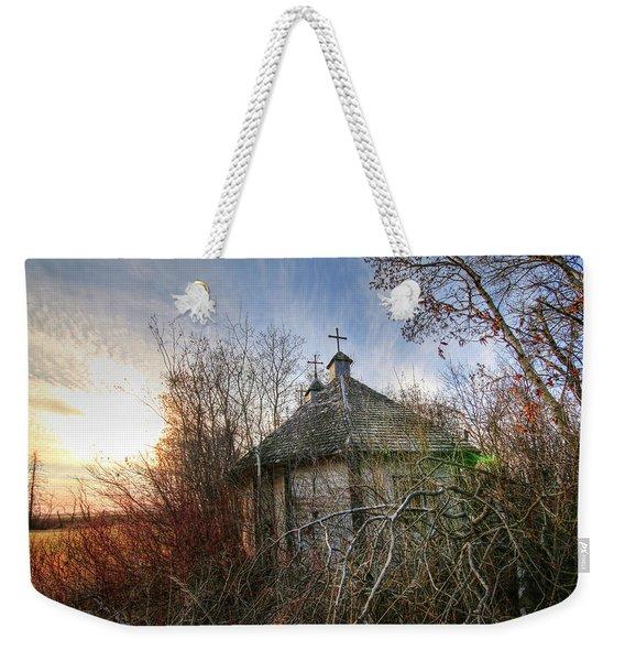 Old Calder Church Weekender Tote Bag